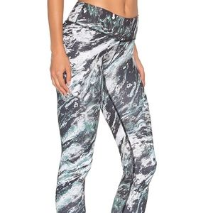Vimmia Marble Printed Long Workout Legging - NWT